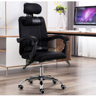 Champion High Back Ergonomic Reclining Office Chair (Black)