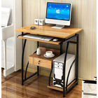 Essential High Gloss Office Student Computer Desk (Wood Grain)