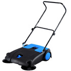 Commercial Industrial Large Area Floor Push Sweeper