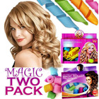 2PK - Magic Leverag & Magic Roller Hair Curler Pack
