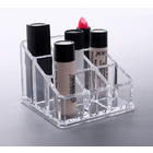 Cosmetic Organizer Clear Acrylic LipStick Box Makeup Lip Stick Storage Case