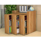 Infinity Vertical Cabinet Shelving System 3-Drawer (Oak)