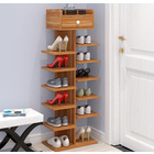 8 Tier Shoe Rack Storage Organizer (Oak)