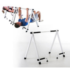 Portable Workhorse Inverted Pull Up Bar Stand