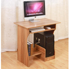 Hestia Essential Computer Desk with Shelves (Oak)