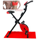 Fitpal Fitness Magnetic Exercise Bike (Red)