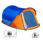 Pop Up Tent - Instant Set Up 2-Person Tent Round Carry Bag