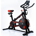 Fitplus Power Advanced Stationary Fitness Exercise Spin Bike (Black)