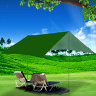 3m Portable Sun Shade Sail Kit (Earthy Green)