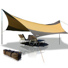 Large Sun Shade Sail Kit