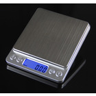 0.01g Digital Precision Platform Scale Stainless Steel 500g