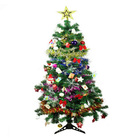 Christmas Tree with Decorations Complete Kit 1.5m