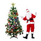 1.8m Christmas Tree with Decorations Complete Kit