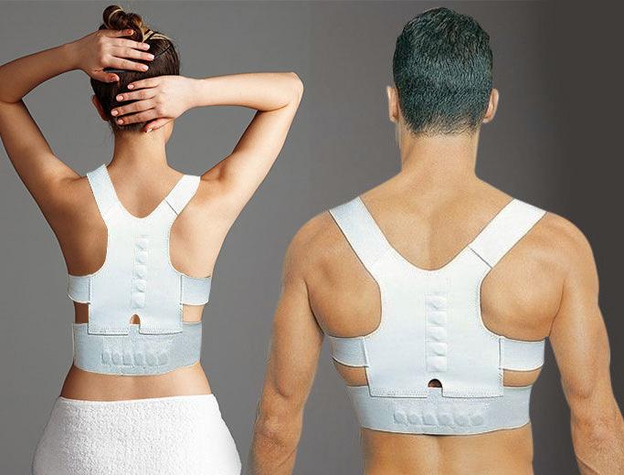 Premium Magnetic Posture Corrector Back Shoulder Support