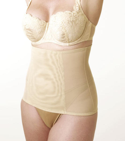 Tummy Trimmer Body Slimmer Shaper Weight Loss ShapeWear (Nude XL)
