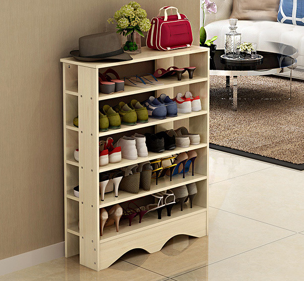 Spacious 5 tier shoe rack organizer Stylish shoe rack