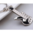 Electric Guitar Keyring Metal Key Chain Keyring