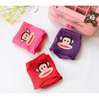 4 x Cute Monkey Print Cotton Briefs Underwear (Assorted Colours)