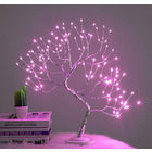 108 LED Firefly Fairy Light Spirit Tree Pink