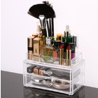 Clear Acrylic Cosmetic Organizer Makeup Container Storage