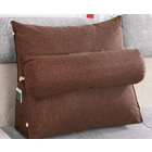 Paradise Adjustable Chair Seat Head Pillow & Back Lumbar Support Cushion (Mocha)