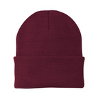 Comfortable Unisex Men's Women's Beanie (MAROON)