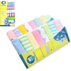 3 x Packs of 8 Baby Face Washers Hand Towels (24 PCS)