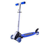 4 Wheels Kids Scooter Lean to Steer Full Metal Frame (BLUE)