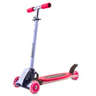4 Wheels Kids Scooter Lean to Steer Full Metal Frame (RED)