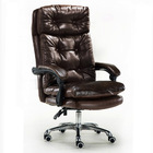 President Premium Executive Reclining Office Chair (Dark Brown)