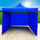 3-Side Gazebo Walls 3m x 3m (Blue- Walls Only)