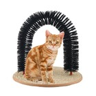 Perfect Arch Cat Toy Self Groomer Scratcher Massager All In One