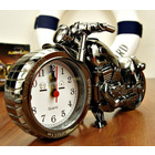 Retro Motorcycle Alarm Clock