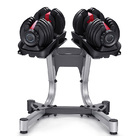 Adjustable Dumbbell Weights Set with Stand - 48kg