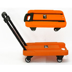 Multifunction Compact Foldable Platform Trolley
