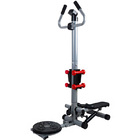 3 in 1 Health and Fitness Twist Stepper with Handle Bar, Twister & Dumbbells