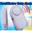 Wireless Door Window Alarm Sets Magnetic Entry Sensor Home Office Security