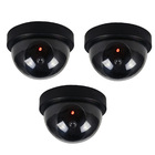 3 x Simulation Dummy Dome Security Cameras