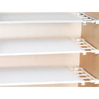 Extendable Clothes Shelf Closet Organizer 50-80cm