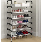 6 Tier Shoe Rack Storage Shelf Organizer