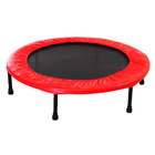 "40"" Mini Trampoline Home Fitness Gym (Red)"