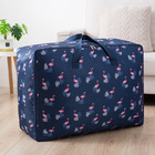 XL Jumbo 100L Flamingo Zipped Storage Luggage Bag