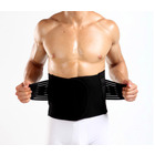 Bio Waist Lower Back Support Magnetic Brace Pain Relief (BLACK)