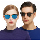 Polarized Stylish Sunglasses Mirrored Finish