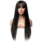 Black Long Straight Hair Wig