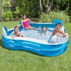 Intex Swim Center Family Lounge Swimming Pool