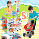 Deluxe Supermarket Toy Play Set with Shopping Trolley