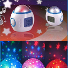 Music Projector Digital Alarm Clock Calendar Starry Sky Projection