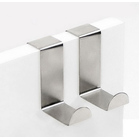 2 x Stainless Steel Door Hangers (1 Pack)