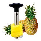 2 x Stainless Steel Easy Slicer Pineapple Cutter Corer Peeler